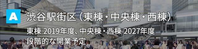 渋谷駅駅街区(東棟・中央棟・西棟)
