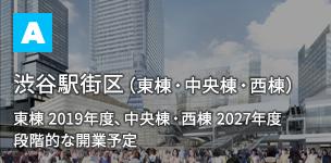 渋谷駅街区(東棟・中央棟・西棟)