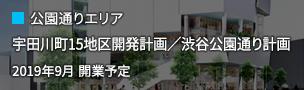 公園通りエリア:宇田川町15地区開発計画/渋谷公園通り計画